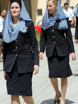 Gulf Air girls