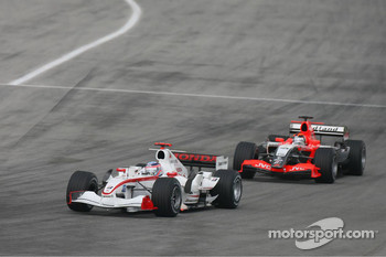 Takuma Sato and Christijan Albers