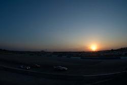 Sunset racing at Turn 17