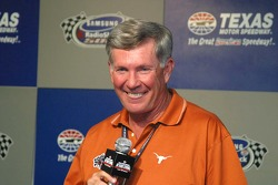 Mack Brown, University of Texas National Champions Football Coach, Grand Marsahll SamSung/Radio Shack 500.
