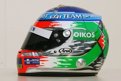 The new helmet of Giancarlo Fisichella