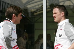 Ange Pasquali and Ralf Schumacher