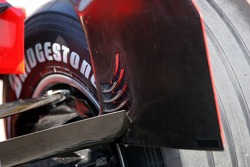 Technical details of the Ferrari