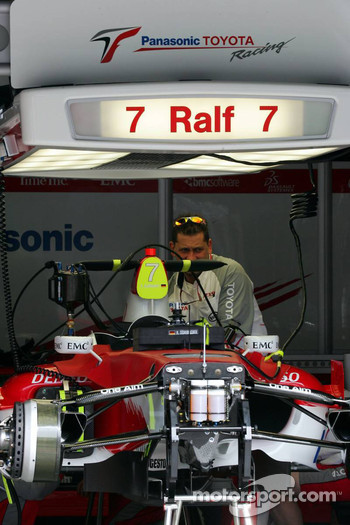 Car of Ralf Schumacher