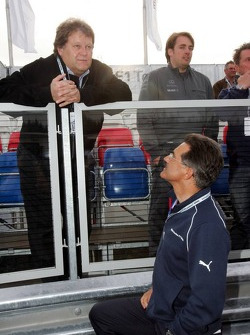Visit of BMW Sauber F1 team Pitlane Park: Norbert Haug and Dr. Mario Theissen