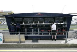 The pit gantry of Scuderia Toro Rosso