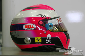 Photoshoot: helmet of Franck Montagny