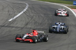 Christijan Albers leads Nico Rosberg