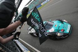 Race winner #1 Vitaphone Racing Team Maserati MC 12 GT1: Michael Bartels, Andrea Bertolini