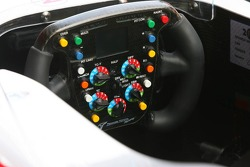 Steering wheel of Ralf Schumacher