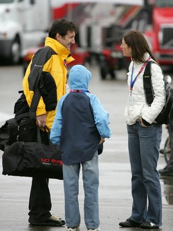 Ron Fellows and family