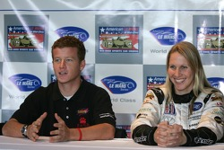 IMSA young guns press conference: Patrick Long and Liz Halliday