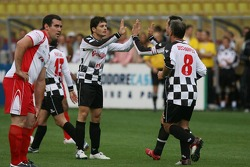 Charity football match: Giancarlo Fisichella