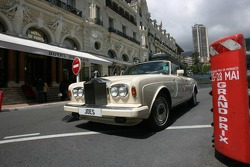 A Rolls Royce outside the Hotel De Paris