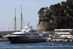 Yacht in the harbour
