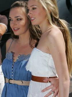 Tamara and Petra Ecclestone