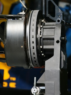 Detail of a Renault brake