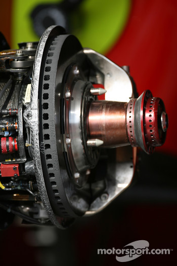 Brake of the Ferrari