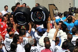 Michelin win their 100th Grand Prix