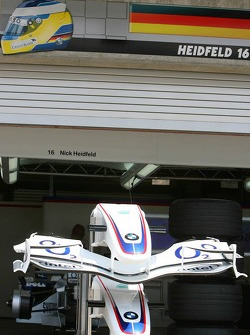 Garage of Nick Heidfeld