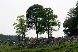 Lime Rock fans watch race action