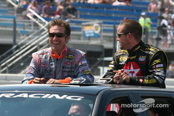 J.J. Yeley and Casey Mears