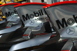 McLaren engine covers