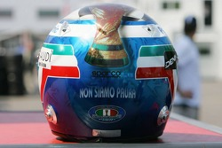 Italy World Cup win helmet of Jarno Trulli