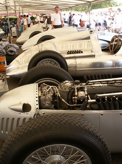 Impressive Display Of Prewar Auto Unions