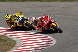 Marco Melandri and Valentino Rossi