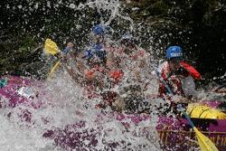 A big splash for the Aston Martin raft
