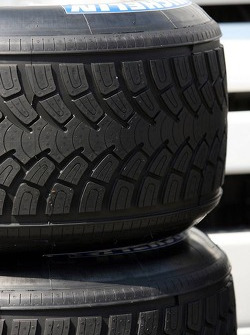 Michelin tyres with a new design