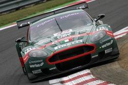 #24 Aston Martin Racing BMS Aston Martin DBR9: Fabrizio Gollin, Miguel Ramos, Gabriele Lancieri, Matteo Malucelli