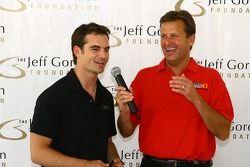 Jeff Gordon and Dave Calabro