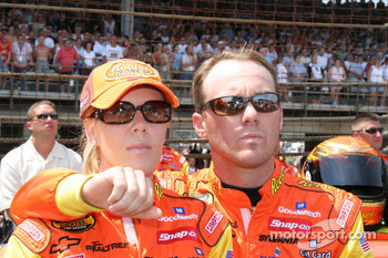 Kevin Harvick and wife DeLana