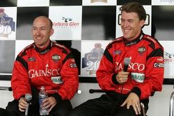 Press conference: pole winners Jon Fogarty and Alex Gurney