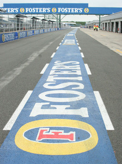 Sponsorship in pitlane