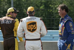 Elliott Sadler, Dale Jarrett and Michael Waltrip