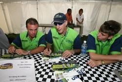 Nic Jonsson, Tracy Krohn and Colin Braun