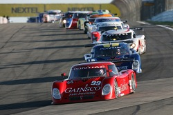 Pace laps: #99 Gainsco/ Blackhawk Racing Pontiac Riley: Jon Fogarty, Alex Gurney