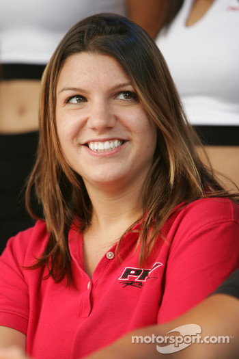 Ford Racing Festival on Crescent street: Katherine Legge