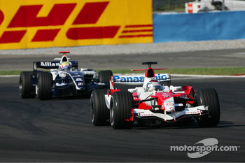 Jarno Trulli and Mark Webber