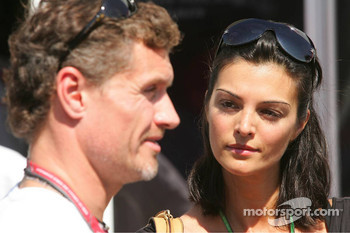 Karen Minier, fiancee of David Coulthard