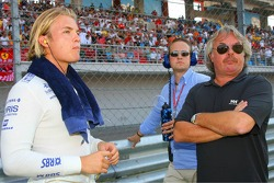 Nico Rosberg and Keke Rosberg
