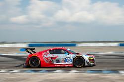 #45 Flying Lizard Motorsports Audi R8 LMS: Marco Holzer, Robert Thorne, Colin Thompson
