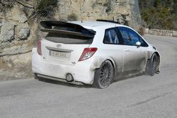 Toyota Yaris WRC in testing
