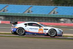 #96 Aston Martin Racing Vantage V8: Roald Goethe, Stuart Hall, Francesco Castellacci