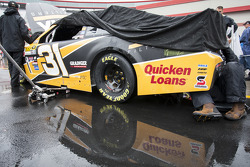 Rain delay, Ryan Newman, Richard Childress Racing Chevrolet