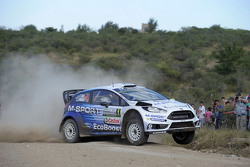 Ott Tanak And Raigo Molder, Ford Fiesta Rs Wrc, M-Sport World Rally Team