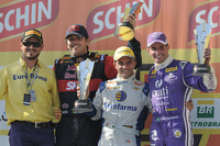 Podium Race 2: Cacá Bueno, Max Wilson, and Julio Campos